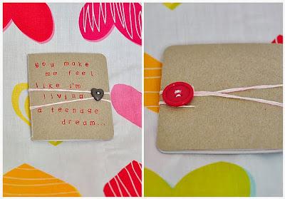 DIY Libreta San Valentin