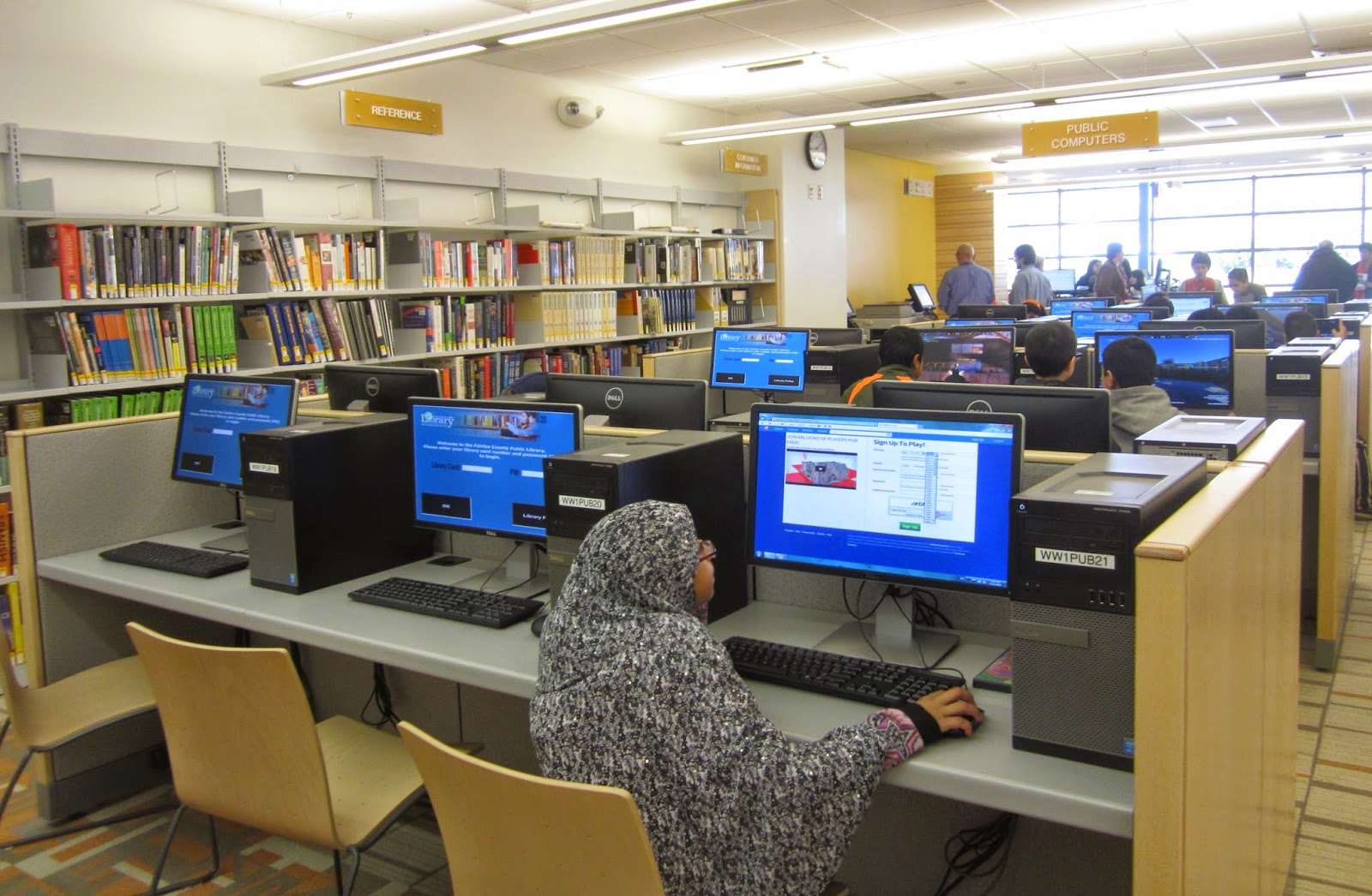 Wilson Library Reserve Room