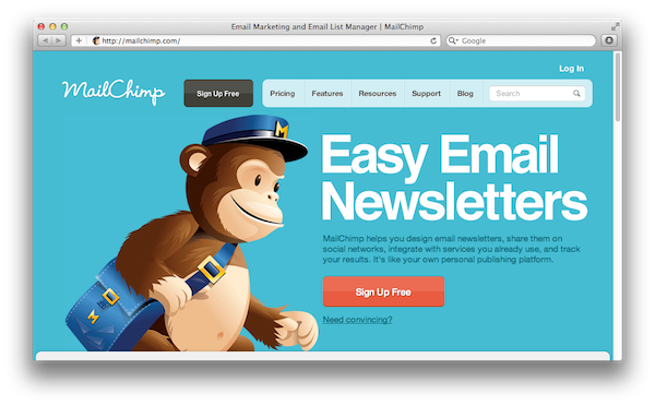Definir Rss para E-mail com Mail chimp Alternativa Feedburner