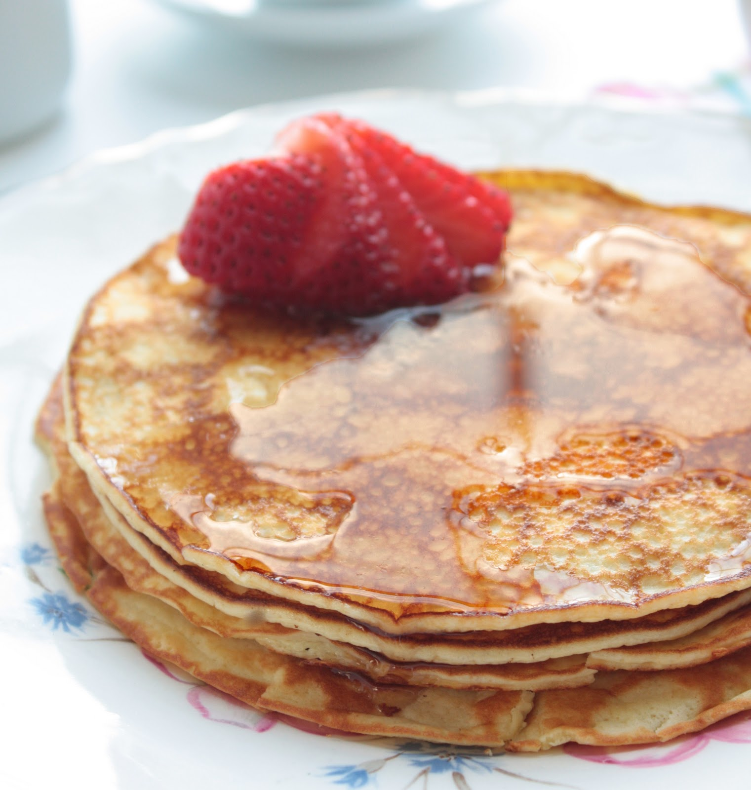 Gluten Free Cream Cheese Pancakes | Woman on a Budget