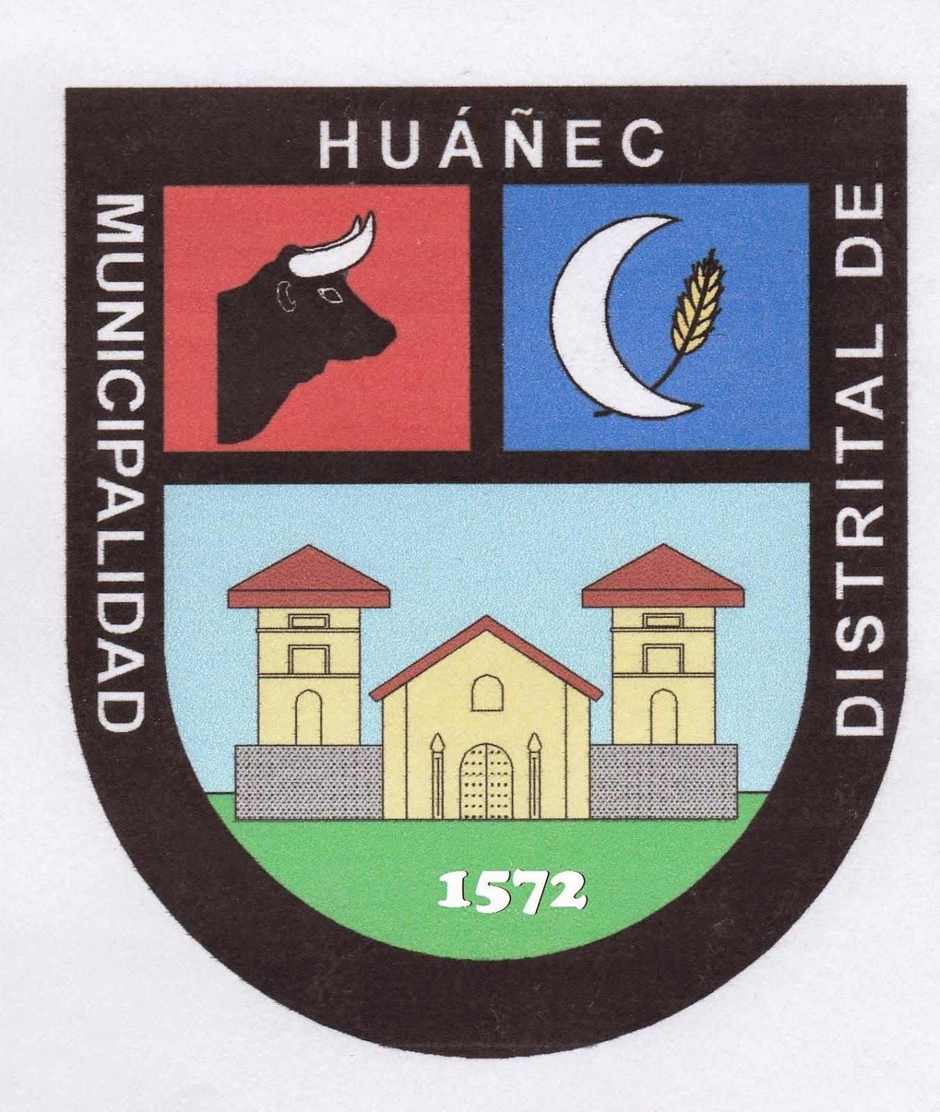 ESCUDO  DE LA CIUDAD DE HUAÑEC - YAUYOS