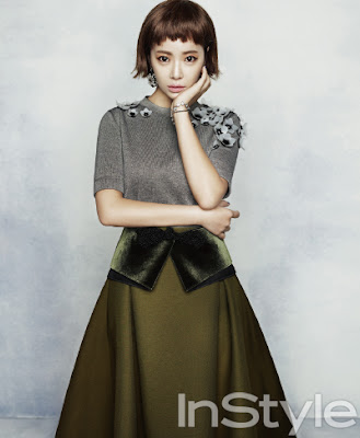 Hwang Jung Eum - InStyle Magazine August Issue 2013