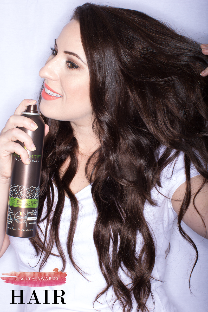 Macadamia Professional Style Lock Firm Hold Hairspray review