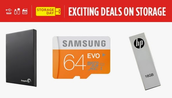 Exiting Deal on Storage Devices