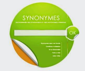 Dictionnaire de synonymes  قاموس فرنسى للمترادفات رائع