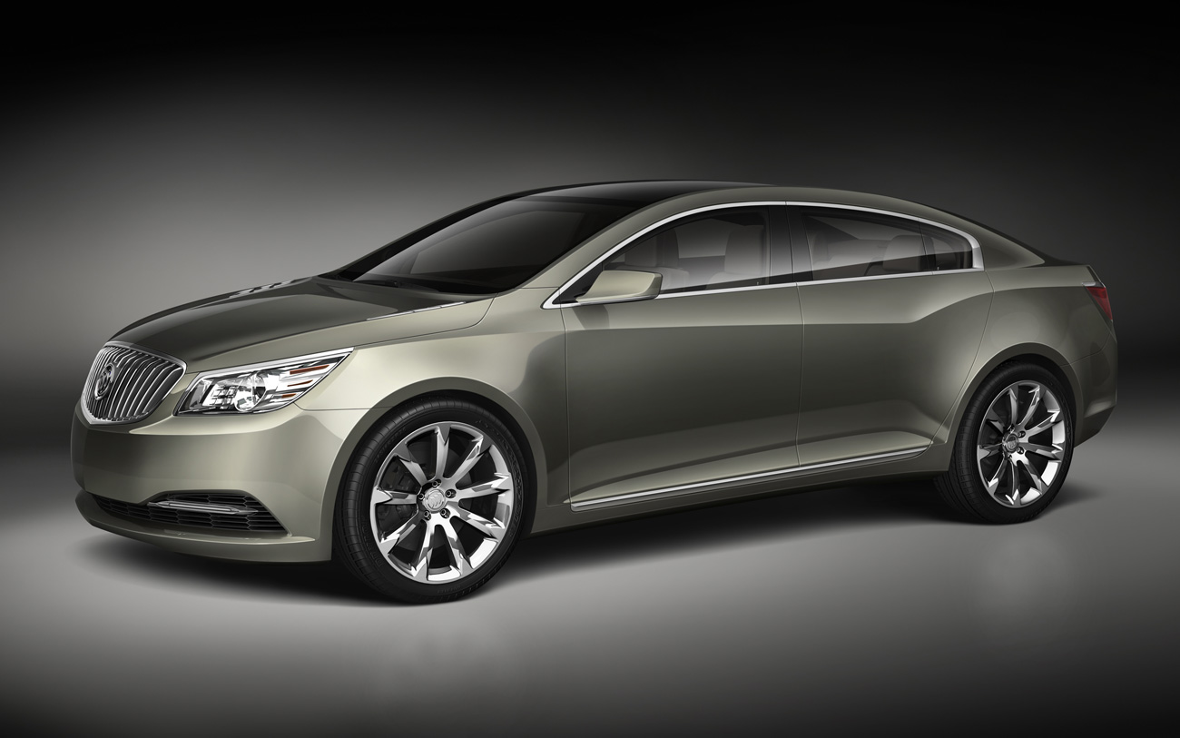 The driver's blog: 2010 Buick Lacrosse CXL AWD Redesigned and refined