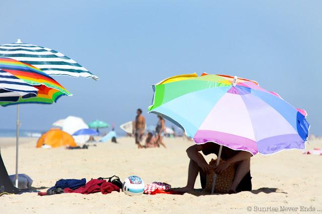 parasol,plage,les estagnots,seignosse,hossegor
