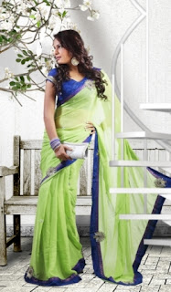 Light-Green-Fashion-Saree