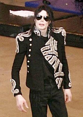 Michael Jackson Balmain Blazer
