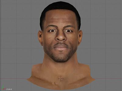 NBA 2K13 Andre Iguodala Cyberface Mod