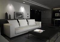 3d model hotel room interior