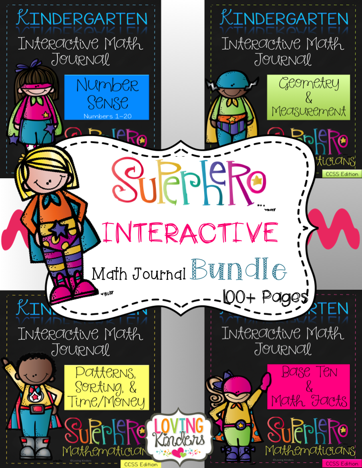 http://www.teacherspayteachers.com/Product/Interactive-Math-Journal-for-Kindergarten-ALL-4-UNITS-1364153
