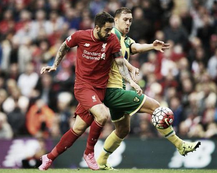 Liverpool 1 x 1 Norwich - Premier League 2015/16
