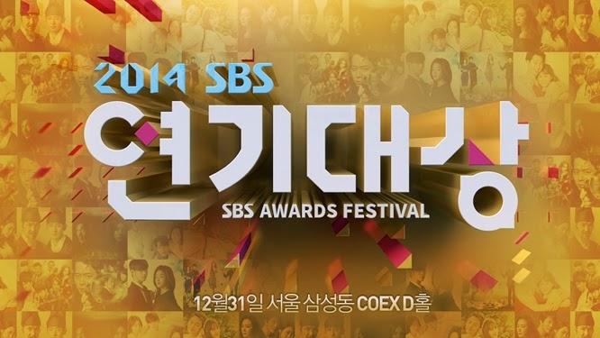 【2014 韓國年末慶典】 2014 SBS 演技大賞 得獎名單