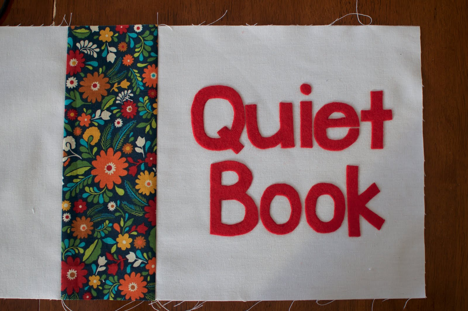 Busy Book Cover Tutorial ~ Wildchildhood the perfect quiet book cover tutorial