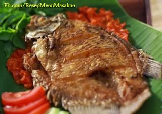 cara membuat ikan gurami cobek lezat
