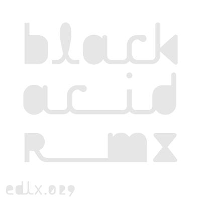 Discosafari - BLACK ASTEROID - Black Acid Remix - Electric Deluxe