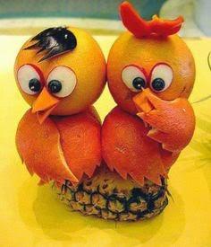 Fiestas, Figuras Decorativas de Frutas
