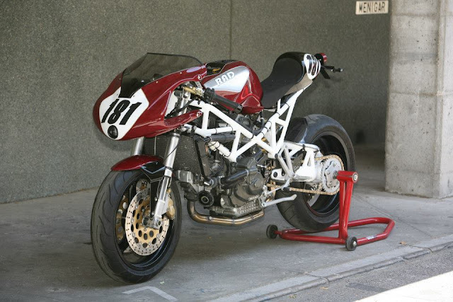 DUCATI ST2 MORCUERA RACER   | CUSTOM MOTORCYCLE  by Radical Ducati 2012
