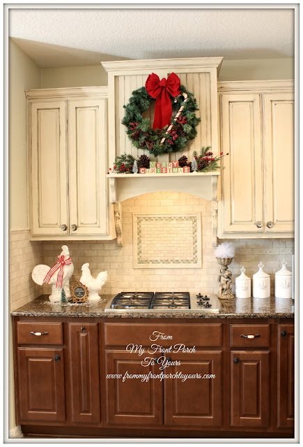 French Country Christmas Kitchen