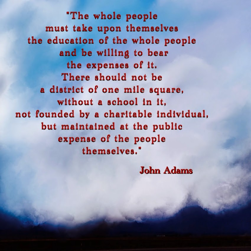 JOHN Adams on Education
