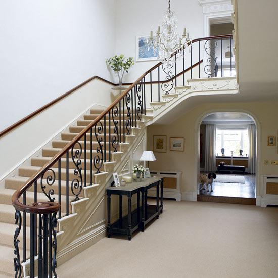 New Home Interior Design Country Hallway: New Home Interior Design: Take A Tour Around A Georgian