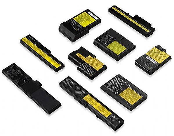 लैपटॉप बैटरी विभाग