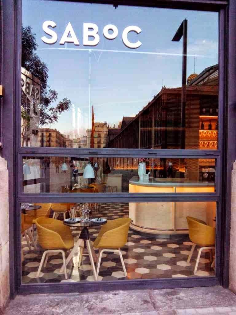 restaurante saboc barcelona borne