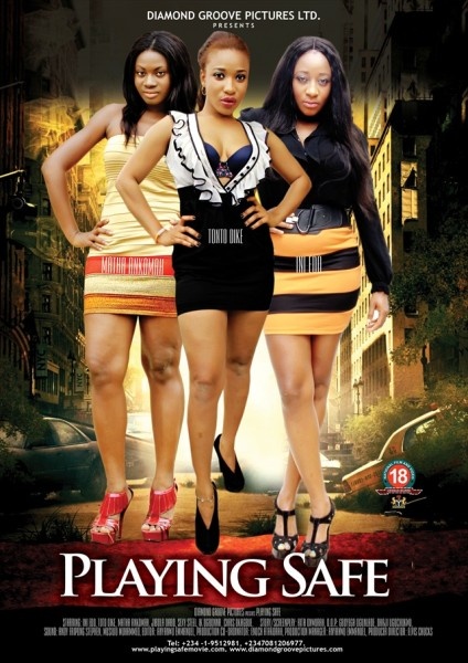 2013 ini edo tonto dikeh others star in playing safe nollywood movie