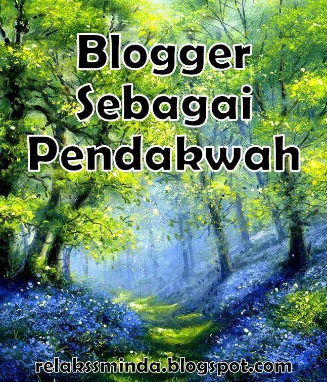 Blogger sebagai pendakwah