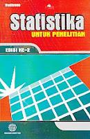 toko buku rahma: buku STATISTIKA UNTUK PENELITIAN, pengarang budiono, penerbit UNS Press