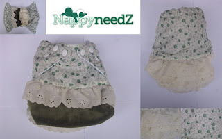 Frills one of a kind pocket nappy