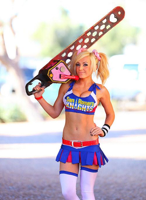 Jessica Nigri: La cosplayer mas sexi y famosa del momento
