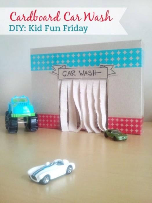 DIY: 10 juguetes de cartón