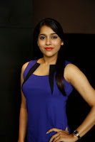 Rashmi Gautam in Spicy Tight Blue Short Dress Glamorous Pics