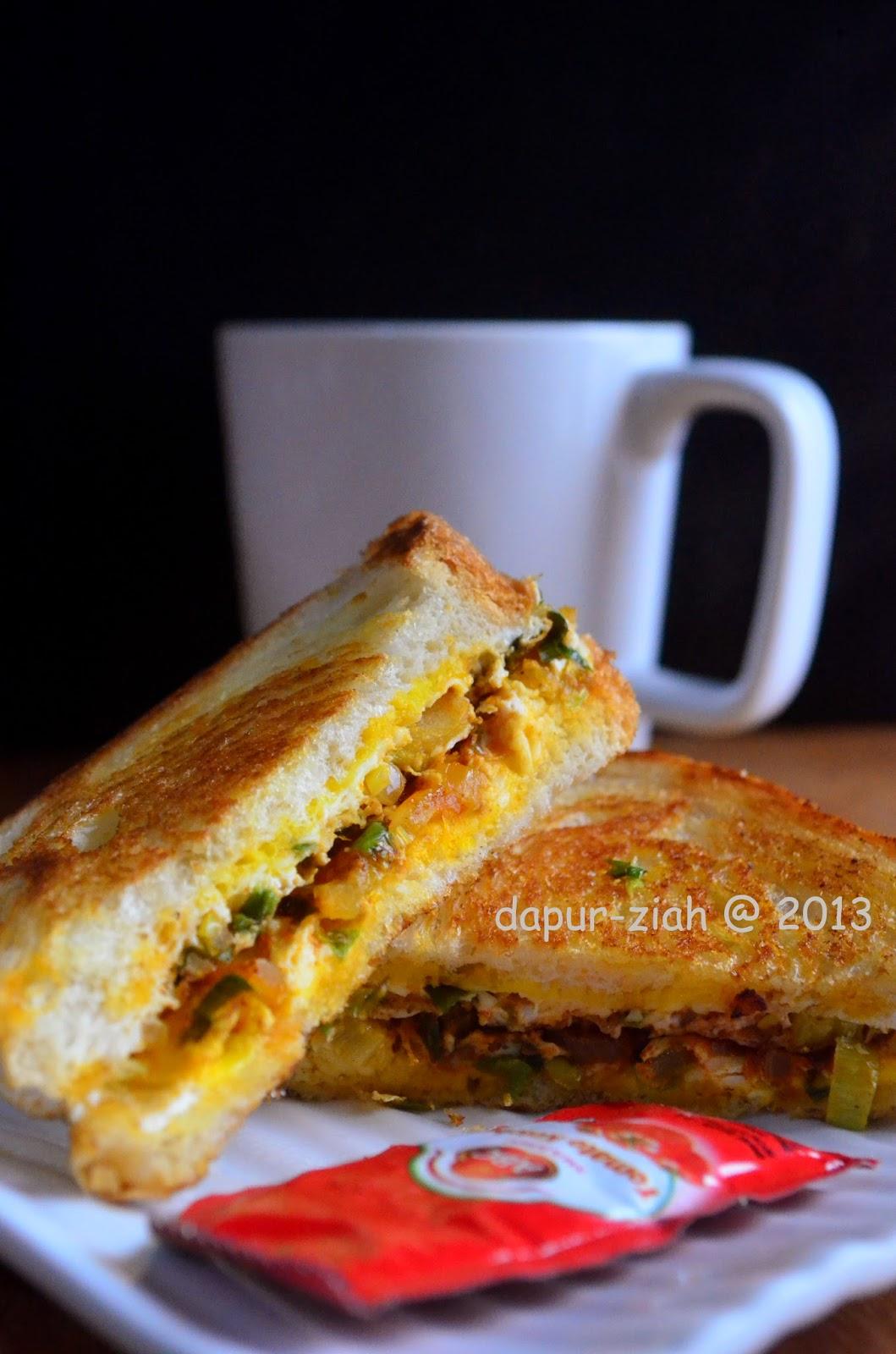 dapur-ziah by mama'e Zie: Sandwich Telur