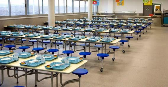 El blog de singladura marzo 2014 for Mesas comedor escolar