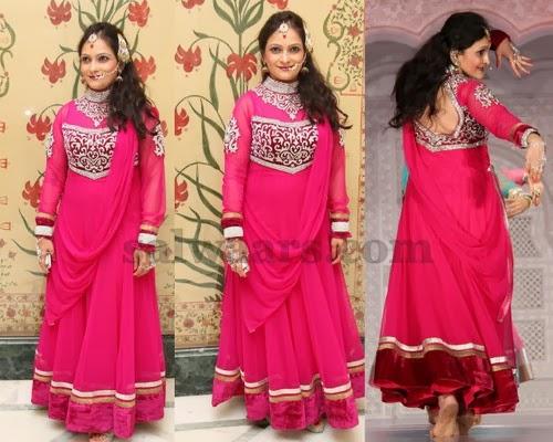 Bina Mehta Pink Salwar Suit