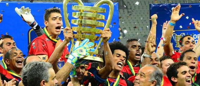 Sport é tricampeão da Copa do Nordeste