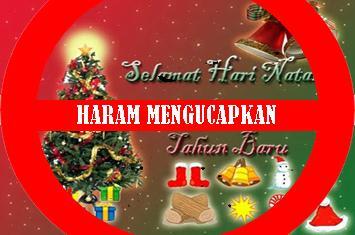 selamat natal dan tahun baru bukan untuk umat islam