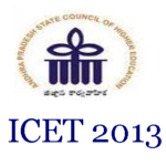 AP ICET 2013 www.studentvoice.in