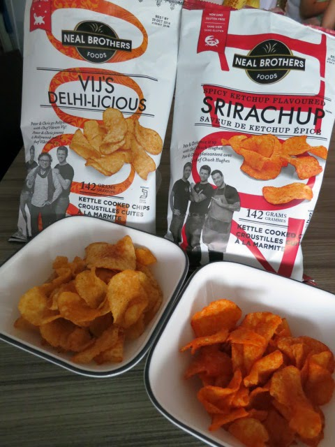 Neal Brothers Vij's Delhi-licious and Srirachup Chips