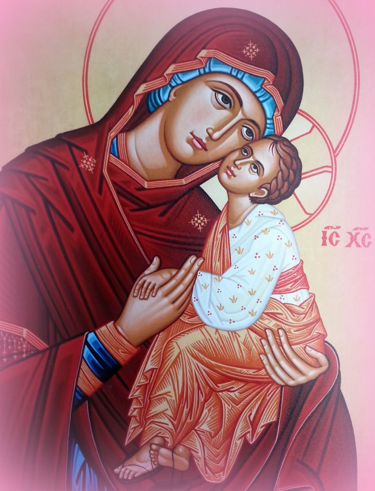Striving to be a wife and mommy like Our Lady