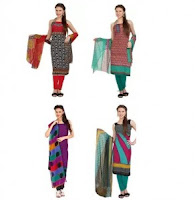 Buy Aryahi Women's Cotton Dress Material at 80% off At  Rs 220 Via Amazon :Buytoearn