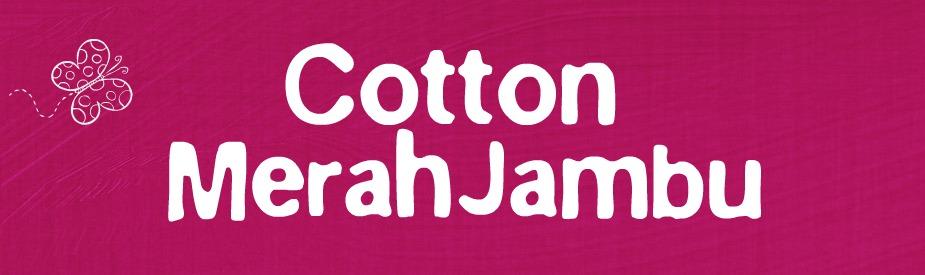cotton  merah jambu