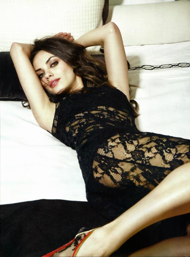 Foto Mila Kunis Wanita Terseksi 2012 versi Majalah Esquire