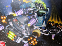 Artwork from the Galaxy Trucker box