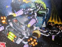 Artwork from the Galaxy Trucker box