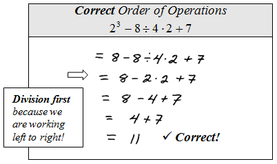 Instructional Video: Order of Operations - The Basics