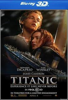 Titanic 3D Half SBS Bluray 1080p Dual Áudio Capa